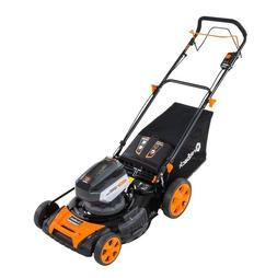 120 Volt Cordless Lithium-ion 21 Self Propelled Mower Kit -