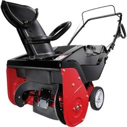 "Yard Machines 21"" 123cc Single-Stage Gas Snow Blower"