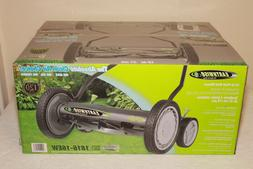 Earthwise 16-in Reel Lawn Mower Push Behind Grass Cutter 4 W