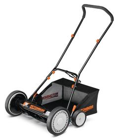 """18"""" Portable Lawn Mower With Attachable Bagger For Small Law"""