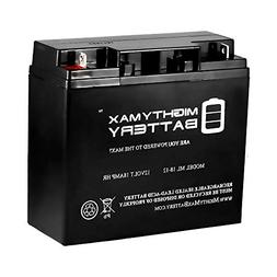 Mighty Max Battery ML18-12 - 12V 18AH New BATTERY for 905080