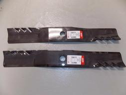 """2 - 391-610 Oregon Replacement lawn mower blade 21-3/16"""" 1"""""""