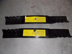 """2 - 596-362 Oregon Replacement lawn mower blade 21-9/16"""" 5/8"""