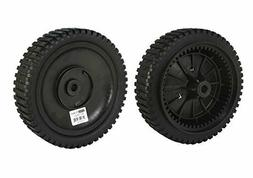 2 Front Drive Wheels For Husqvarna Craftsman Poulan Pro 21""
