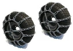 The ROP Shop 2 Link TIRE Chains & TENSIONERS 18x9.5x8 for Se