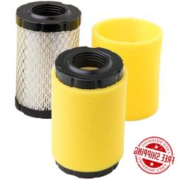 2 Pack Lawn Mower Air Filter for Briggs Stratton 591334 7960