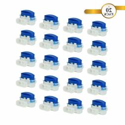 20 Pack Wire Connectors for Robotic Lawn Mowers / Automower/