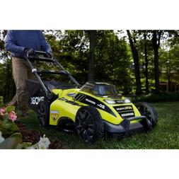 20inch 40Volt Brushless Cordless Walk Behind Push Lawn Mower