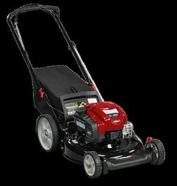 21 gas push lawn mower with briggs