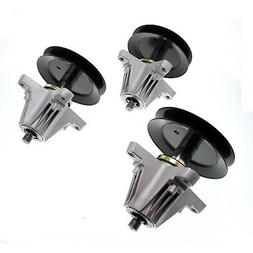 """3 Pack Spindle Assembly for MTD Cub Cadet 54"""" Deck 618-06978"""