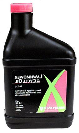 Maxpower 4 Cycle Lawn Mower Oil