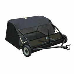 Yard Commander 48-Inch Tow Behind Lawn Sweeper with 4-Foot C