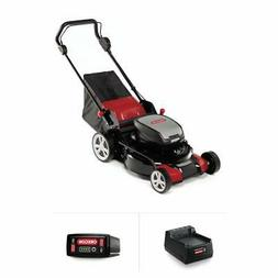 Oregon 591080 LM400 Cordless Lawnmower, Red/Black