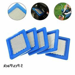 5x Air Filter Replacement For Briggs &Stratton Lawn Mower 49