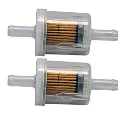 Briggs & Stratton 2 Pack 691035 Fuel Filter 40 Micron For Se