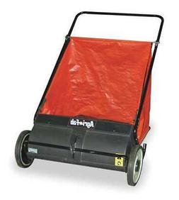 AGRI-FAB 45-0218 Push Lawn Sweeper,26 In. Wide,7 Cu. Ft.