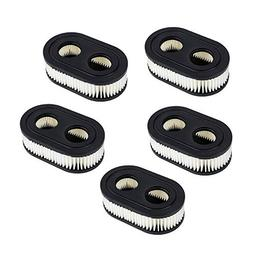 HOODELL 5pcs Air Filter 593260, Compatible with Briggs Strat