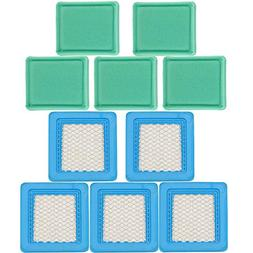 HIPA 5 Pack BS-491588S TB110 Air Filter + Pre Cleaner for Mt