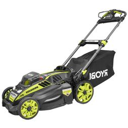 Cordless Electric Lawn Mower Self Propelled Charger 5.0 Ah B