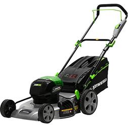 Earthwise 65821 58 Volt 3-in-1 Cordless Electric Push Lawn M
