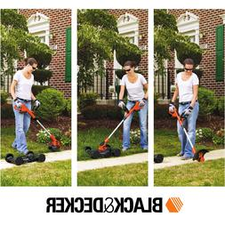 """Cordless Lawn Mower Trimmer Edger 12"""" Electric 20V Lithium-I"""