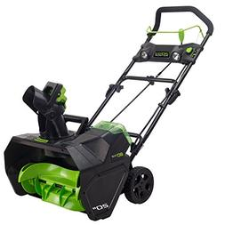 Greenworks Pro 80V Cordless Lithium-Ion 20 in. Snow Thrower