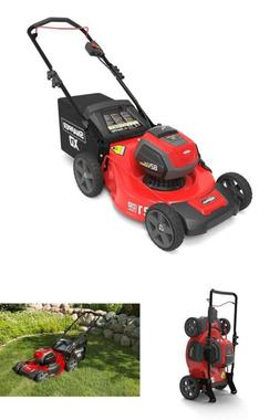 Electric Cordless Lawnmower Steel Mowing Deck 3-in-1 XD SXDW