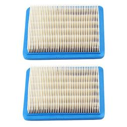 Harbot (Pack of 2 Flat Air Filter for Troy Bilt TB466 TB210