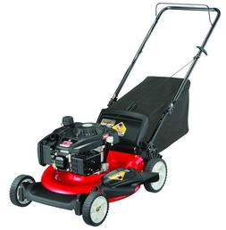 """Gas Self Lawn Mower Propelled 21"""" 3 in 1 Side Discharge Mulc"""