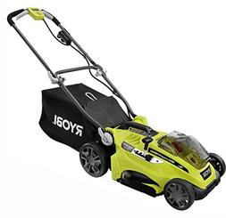 Hybrid Cordless Corded Electric Push Lawn Mower-Only Folding