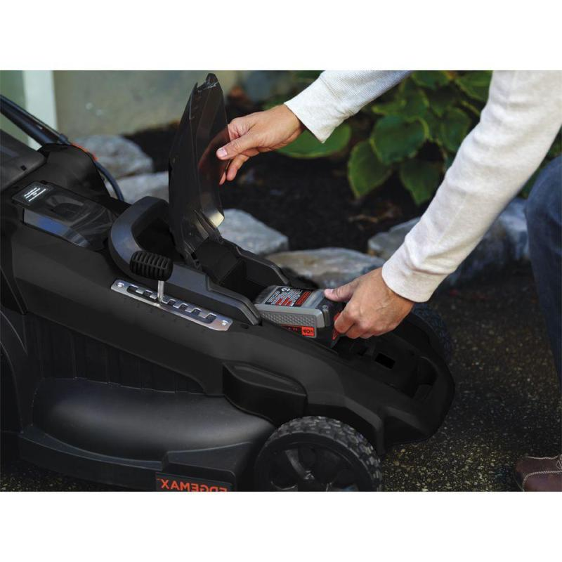 20 In. 40V Lithium-Ion Walk Push Lawn With 2.0Ah B