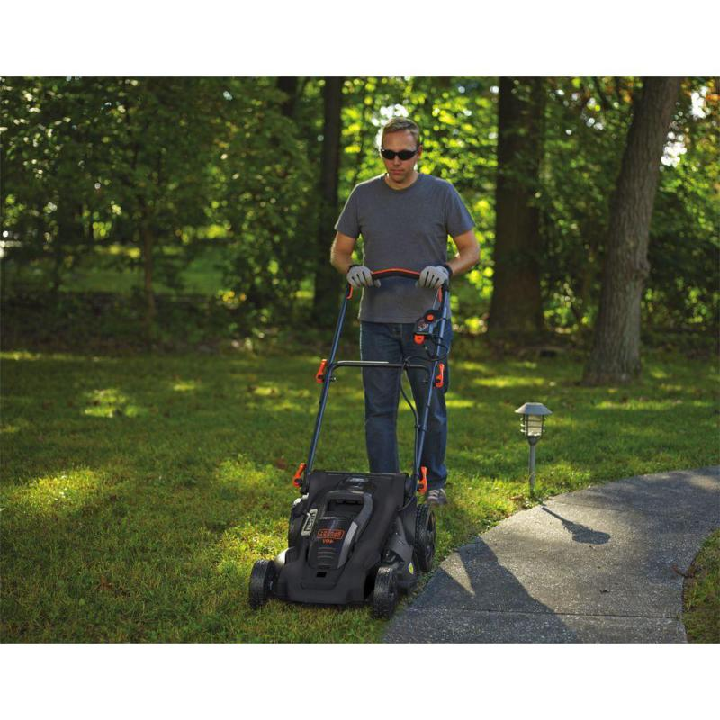 20 40V Max Lithium-Ion Cordless Walk Push Lawn Mower With 2.0Ah