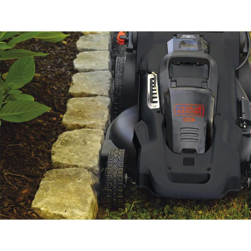 20 40V Lithium-Ion Cordless Push Mower With 2.0Ah B