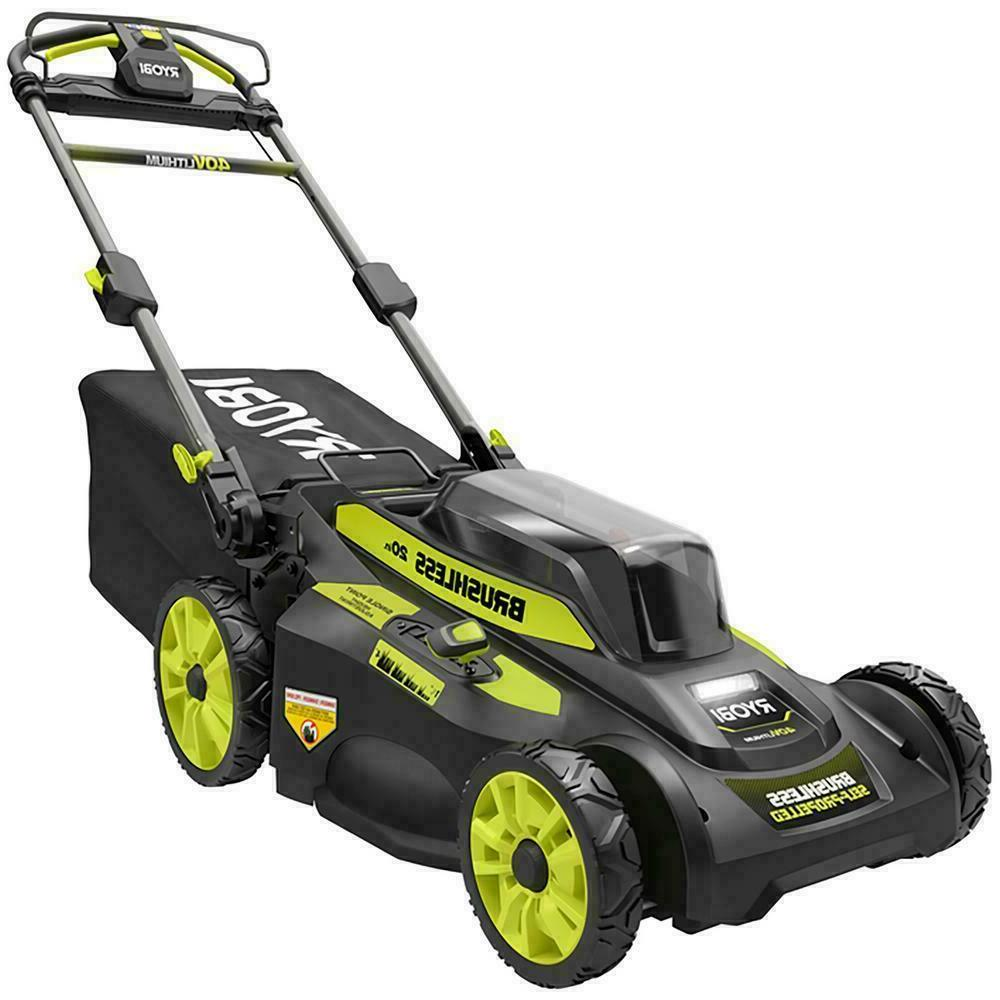 Brushless Cordless Self mowerno charger