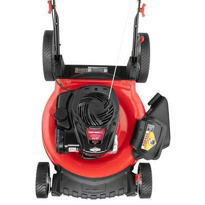 21 in. 500e & stratton walk behind push mower with