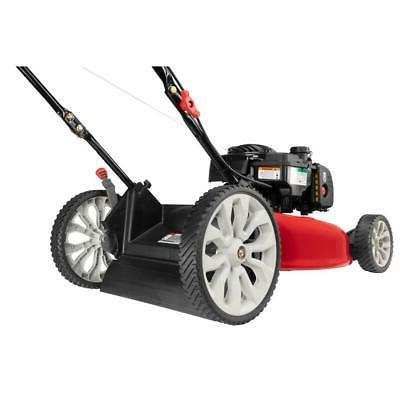 21 500e series & stratton gas behind push mower with