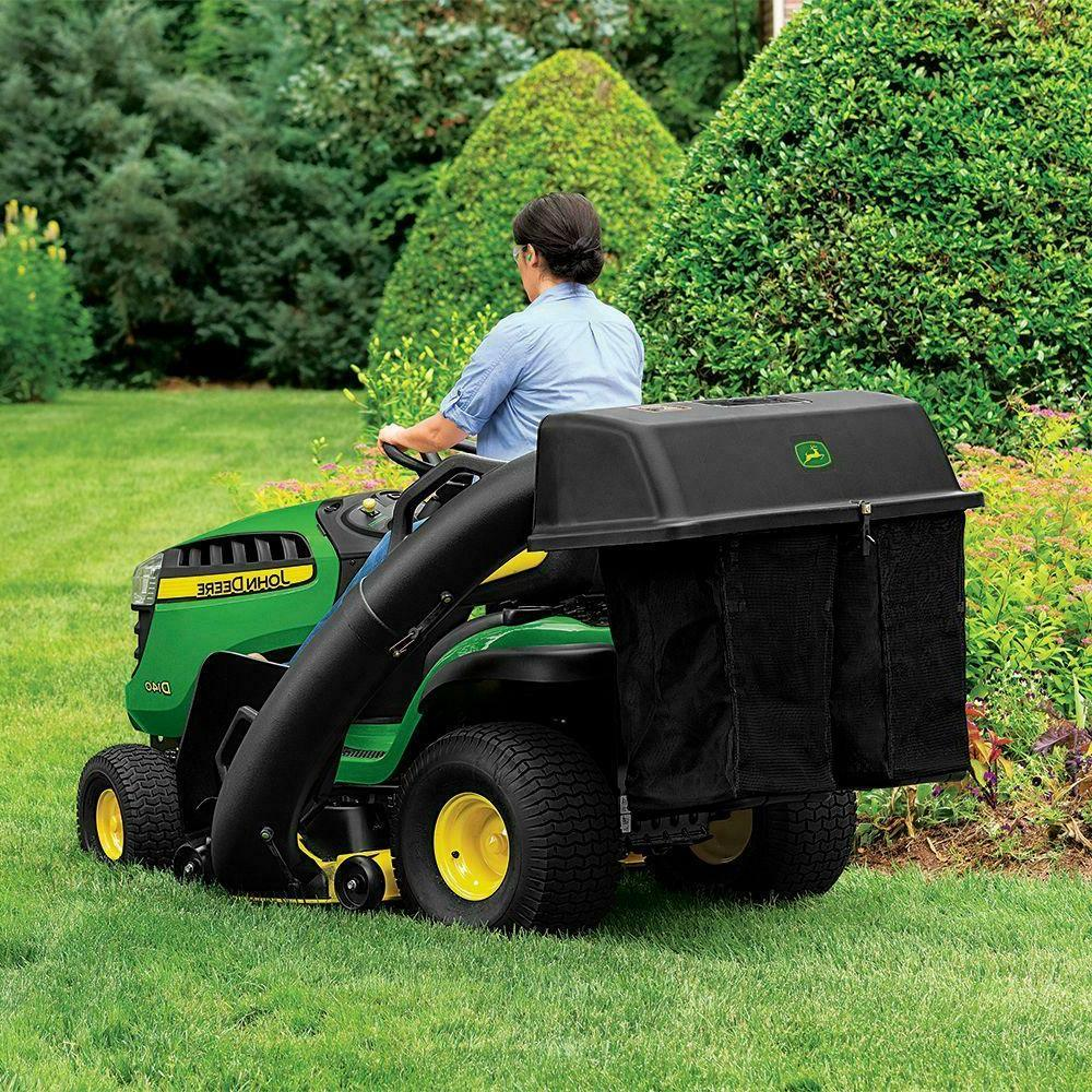 48'' Twin Deere Series Tractor Riding Lawn Collector