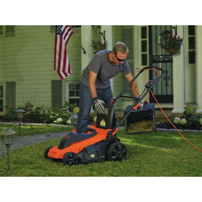 Black & Decker 13 Amp Corded 3-in-1 Electric Mower New