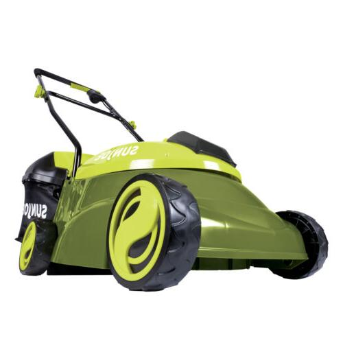cordless electric push lawn mower walk behind