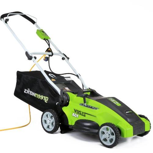 GreenWorks 2-in-1 Electric Lawn Mower