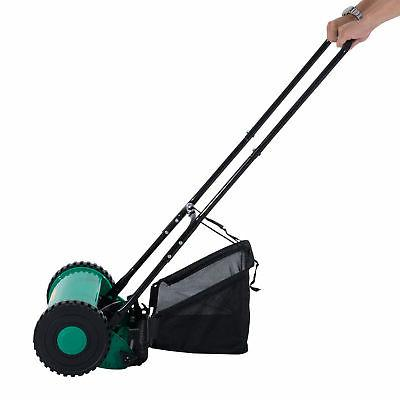 Outsunny Push Adjustable Reel Grass