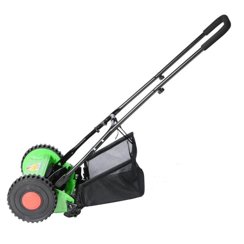 Hand Push Manual Lawnmower US