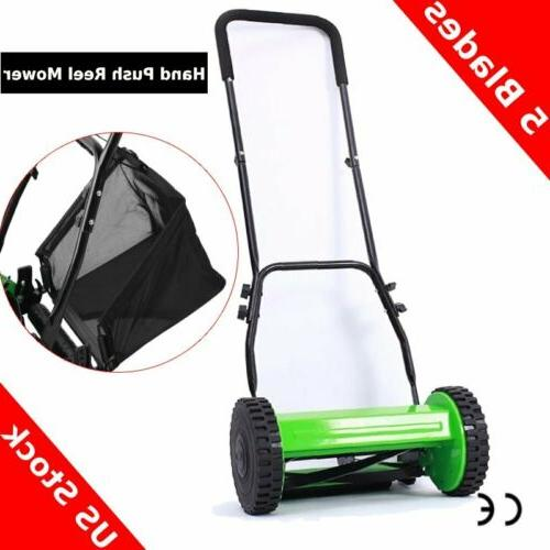 hand push lawn mower courtyard home reel