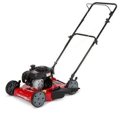Hand Lawn Mower Cutter Discharge And Stratton Engine