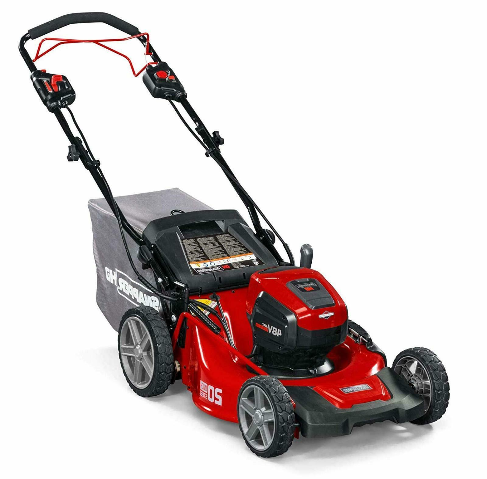 lawn mower self propelled electric cordless 20