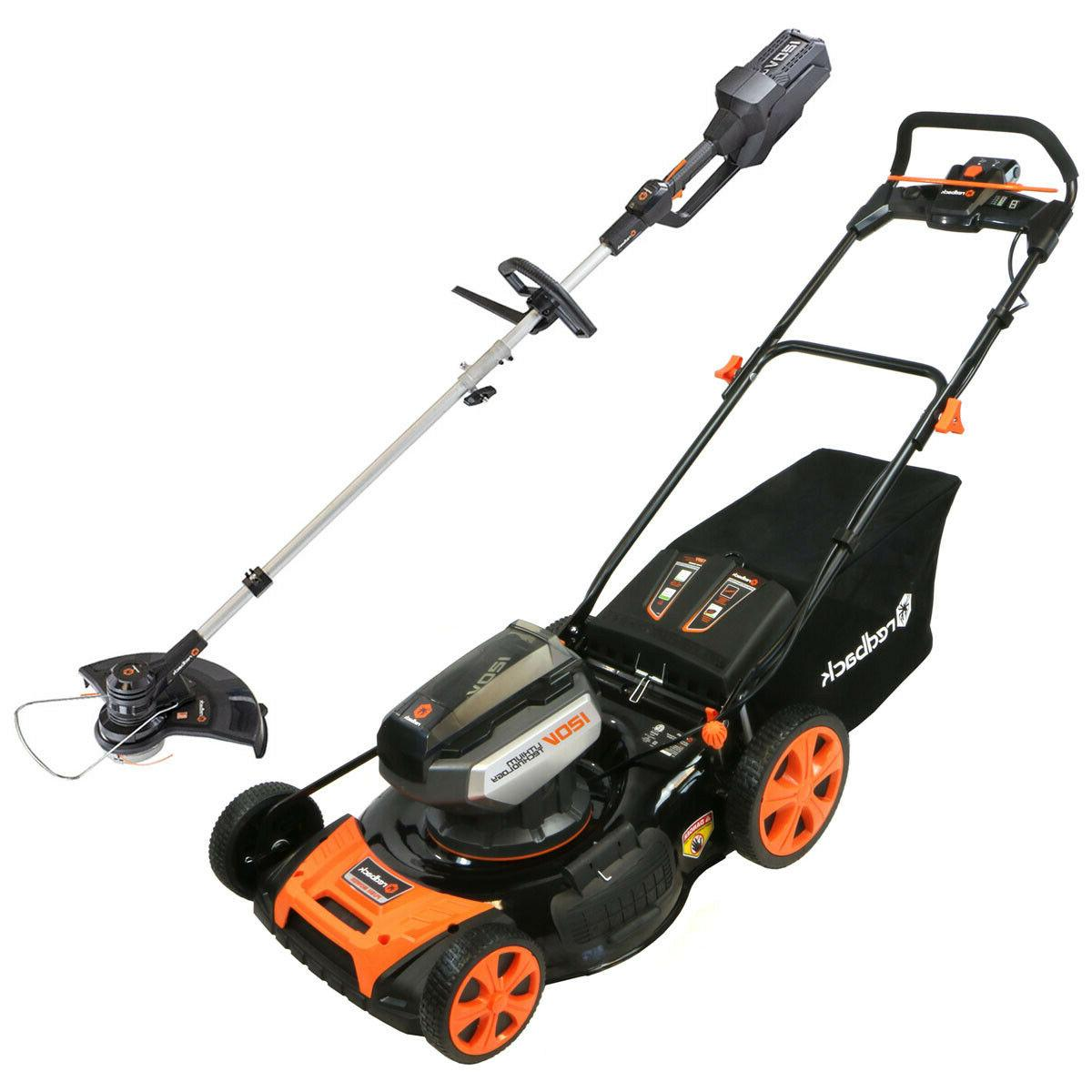 lithium ion cordless electric lawn