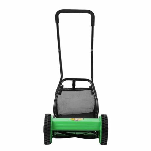 Hand Lawn Mower Courtyard Home Mower Manual Lawnmower Grass BP