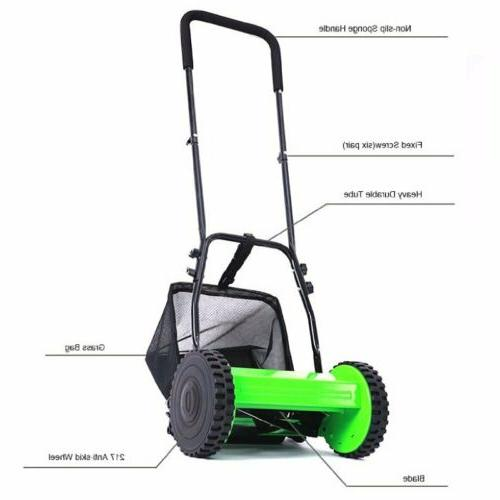 Hand Lawn Mower Courtyard Home Reel Manual BP