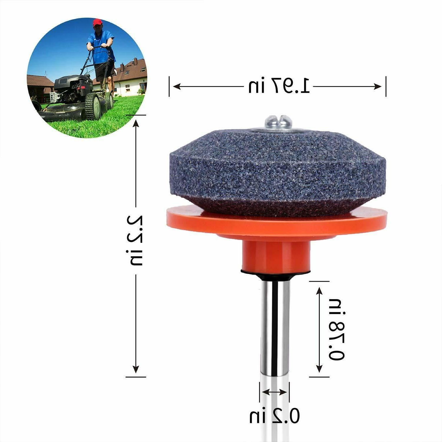 New 4 Mower Grinder Stone Color