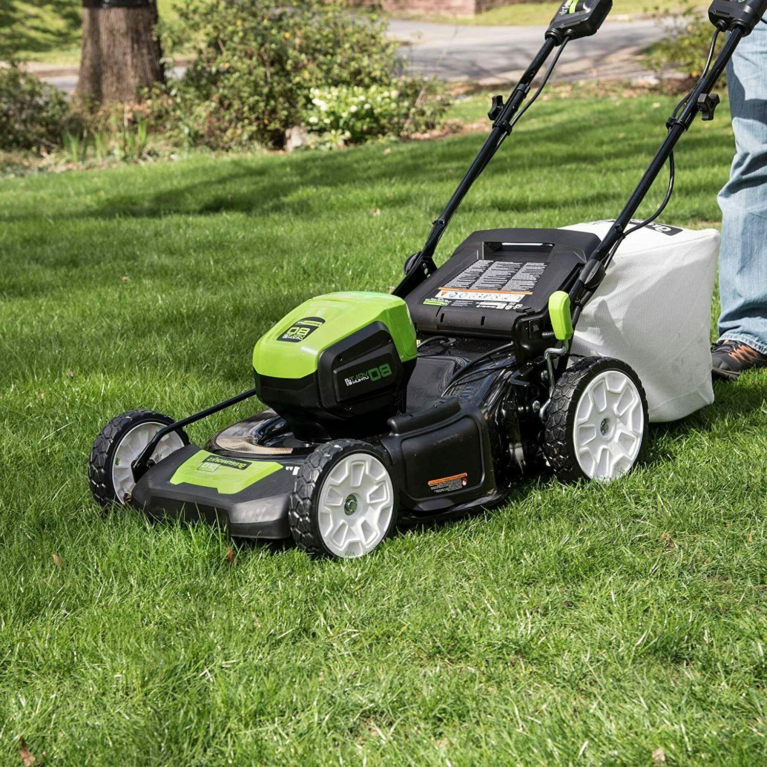 NEW in. Cordless Brushless Mower - Only